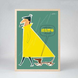 Manden med Regnfrakken