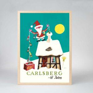 Julemanden foretrækker Carlsberg