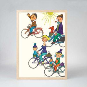 Cykelbyen (uden tekst)