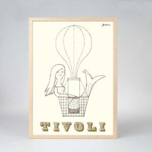 Den lille Havfrue i Tivoli